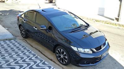 Honda Civic Exr 2016 Teto Solar Pneus Novos Revisado