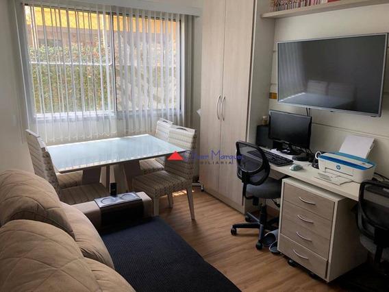 Apartamento Com 1 Dormitório À Venda, 40 M² Por R$ 230.000,00 - Jaguaré - São Paulo/sp - Ap7056