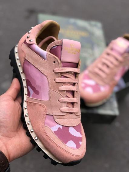 Zapatillas Tenis Valentino Rockrunner Mujer Coleccion 2020