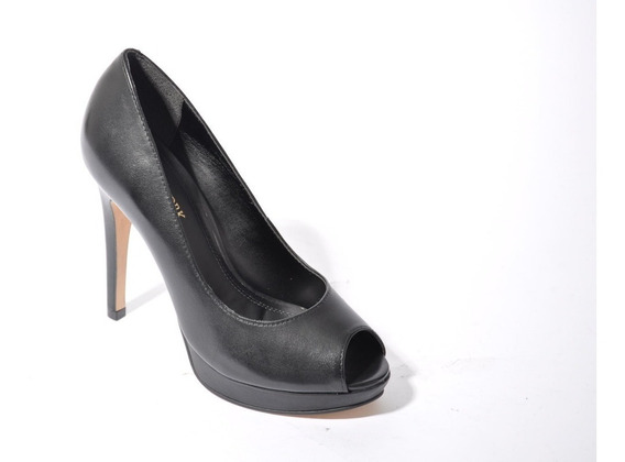 Zapato Clásico De Cuero Mujer Lady Stork Art: Dinora Taco