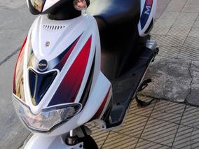 Scooter Mondial Ms50j 50 Cc Como Nueva!