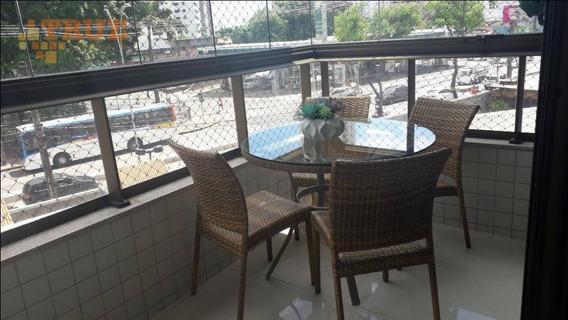 Apartamento Com 3 Dormitórios À Venda, 137 M² Por R$ 950.000 - Rosarinho - Recife/pe - Ap3716
