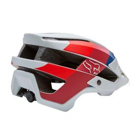 Capacete Fox Bike Flux Drafter Cinza Rs1