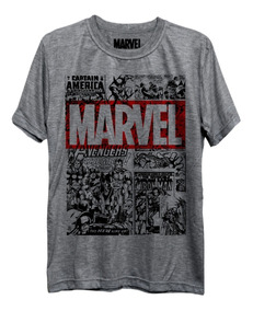 Camiseta Marvel Comics Hq Vingadores Freekz