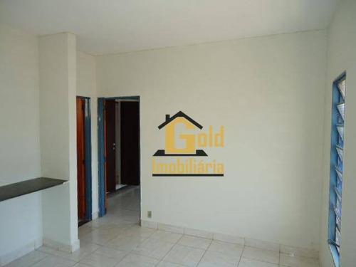 Apartamento Com 1 Dormitório Para Alugar, 47 M² Por R$ 780,00/mês - Jardim Palma Travassos - Ribeirão Preto/sp - Ap2161