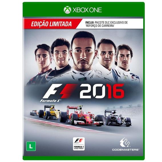 Jogo F1 2016 Edição Limitada Xbox One
