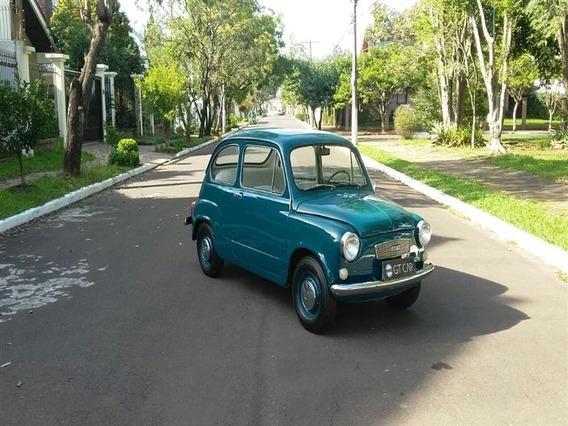 Fiat - 600 R Ano 1968