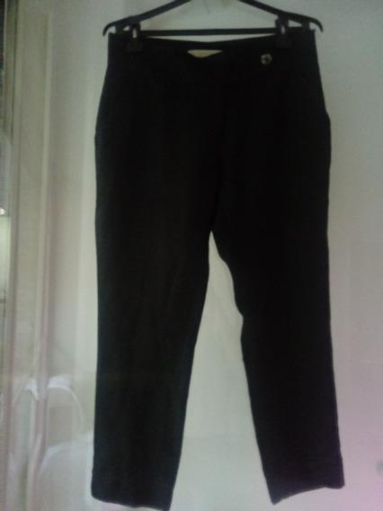 Pantalon Cardon De Lino. Talle 36