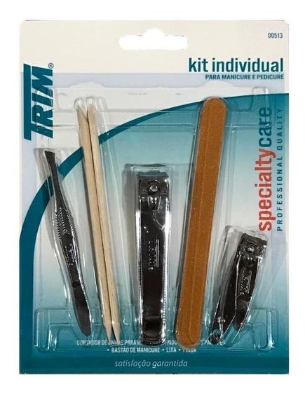 Conjunto Kit Manicure C/ 5 Itens Trim Tp75-pg