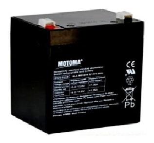 Batería Sellada Motoma 12 V4.5 Ah Ups Alarmas Cercos Lámpara