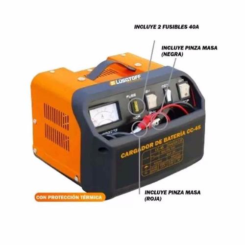 Cargador De Bateria Portatil Lusqtoff Lcc-45 12-24 V