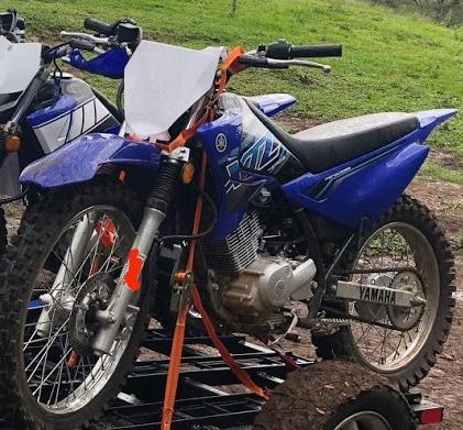 Yamaha Xtz 125 Azul