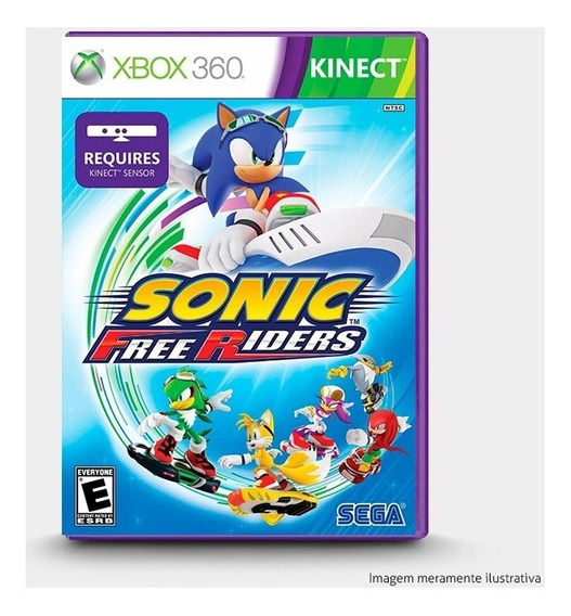 Sonic Free Riders - Original Xbox 360 - Novo