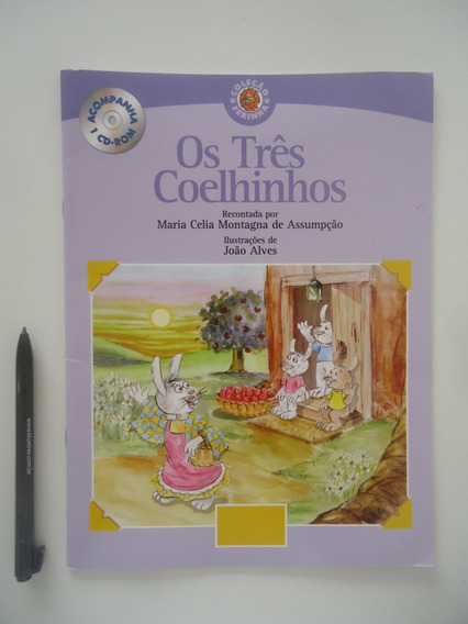 Os Três Coelhinhos - Sem O Cd-rom - Maria Celia Assumpção