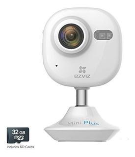 Camara De Seguridad De Video Wifi Ezviz Mini Plus Hd 1080p M