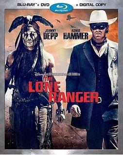The Lone Ranger Bluray Imoprtado - O
