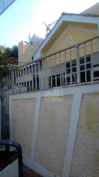Casa Com 4 Dormitórios À Venda, 300 M² Por R$ 700.000 - Santa Rosa - Niterói/rj - Ca1166