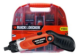 Kit Atornillador 3.6v Black Decker Fdx100 Black + Decker