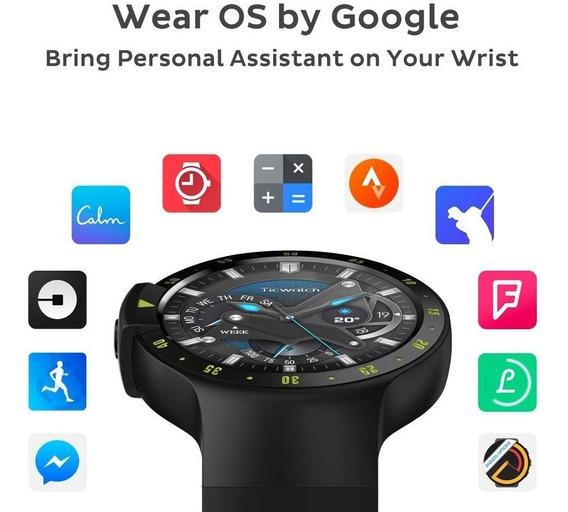 Smartwatch Ticwatch S Wear Os Bluetooth Wifi Gps 4gb Fitness