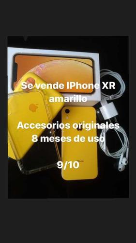 iPhone XR Amarillo 64gb