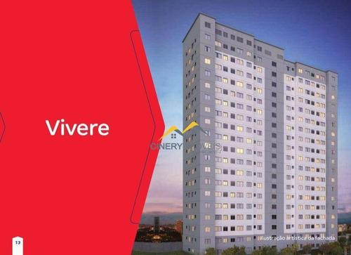 Apartamento À Venda, 43 M² Por R$ 160.000,00 - Guaianazes - São Paulo/sp - Ap0180