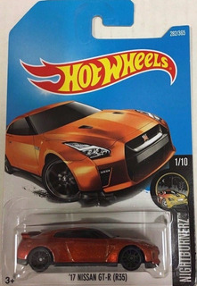 Hotwheels 17 Nissan Gtr R35 #282 2017
