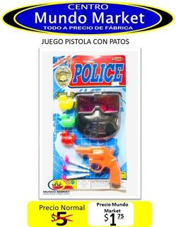 Mundo Market Juego Pistola Con Patos