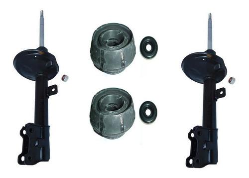 Kit 2 Amortiguadores Delanteros+ Cazoleta C/ Crapodina Oroch