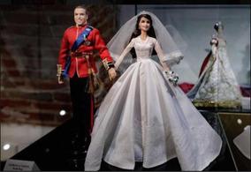 Barbie Willian & Catherine Coleção Peça Única Novo