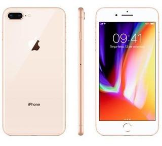 iPhone 8 Plus 64gb Gold Lacrado Garantia Apple 12x Sem Juros