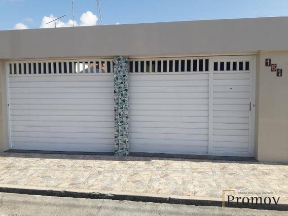 Casa Com Menor Preço Da Região, Pode Financiar, 120 M² Por R$ 150.000 - Aruana - Aracaju/se - Ca0273