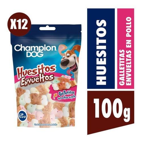 Champion Dog Snack Huesitos Envueltos 12x65g
