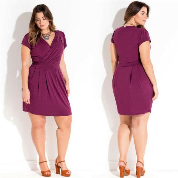 Vestido Plus Size De Festa Lindo Balada Tendência Luxo