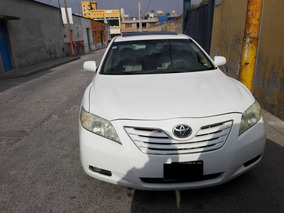 Camry 2009 Blanco Impecable Lujo