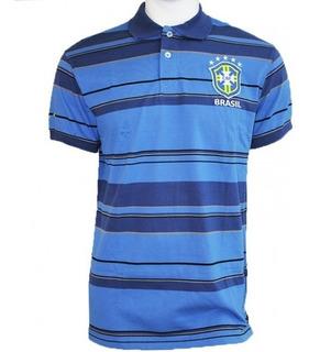 Camisa Polo Seleção Brasileira Meltex