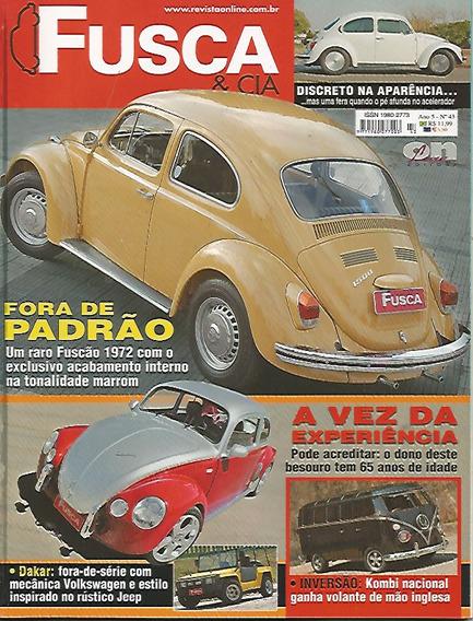 Revista Fusca & Cia Nº 43 - Fora De Padrão