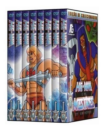 He-man - Completo - 24 Dvds - Dublado