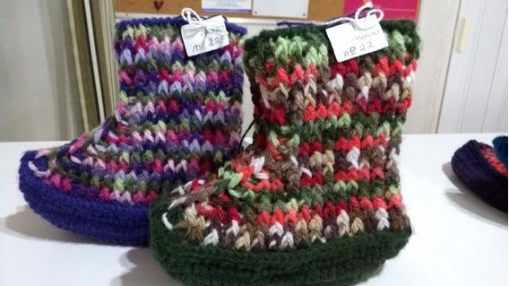 Botinhas De Crochet Tunisiano - Feminina