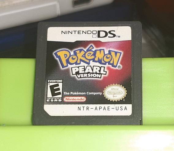 Jogo Pokemon Pearl Nintendo Ds. Original. Americano.