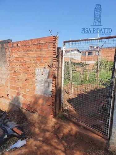 Terreno À Venda, 250 M² Por R$ 160.000,00 - Parque Bom Retiro - Paulínia/sp - Te0879