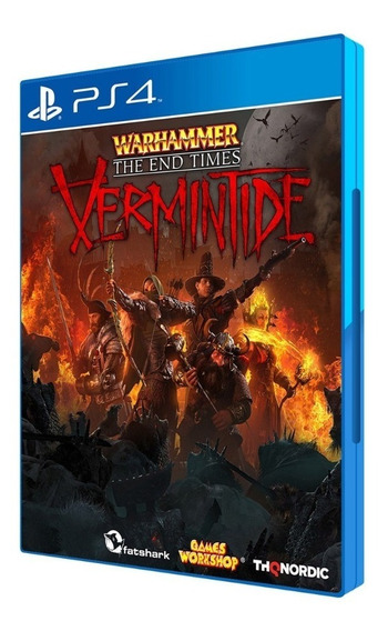 Dvd - Jogo Warhammer The End Times: Vermintide Para Ps4