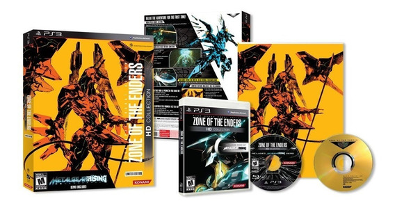 Zone Of The Enders Hd Collection Limited Edition Ps3 Lacrado