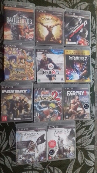 Jogos Seminovos De Playstation 3