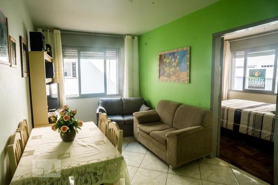 Apartamento No 2º Andar Mobiliado Com 1 Dormitório - Id: 892948558 - 248558