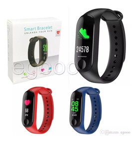 Kit Relógio Smartband Smart Bracelet + Pulseira + Película