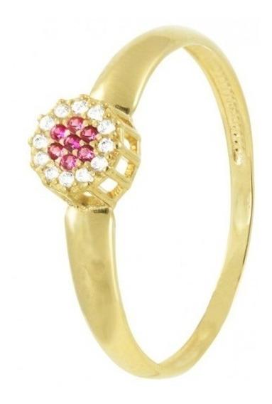 Anel Formatura De Ouro 18k E Diamante Vivarjoias F01