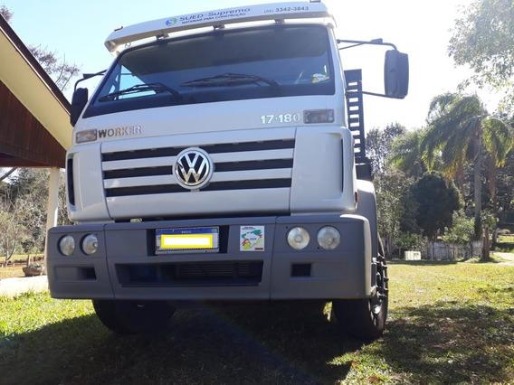 Caminhões Volkswagen Vw Worker 17.180 - 6 Cilindro Reduzida