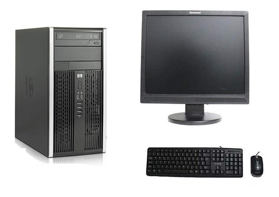 Kit Home Office Hp Dual Core Completo Pronto Pra Uso