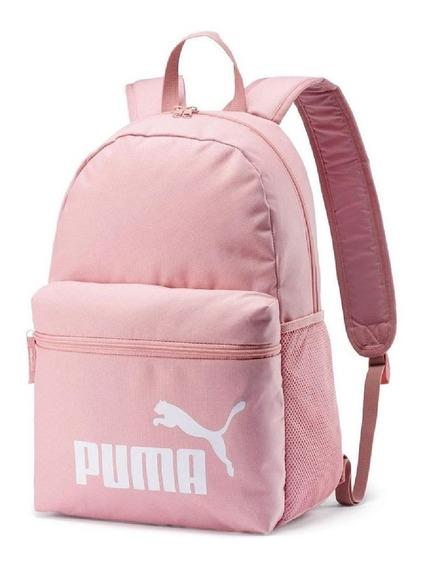 Mochila Puma Phase Rosa Original Escolar Frete Grátis!!