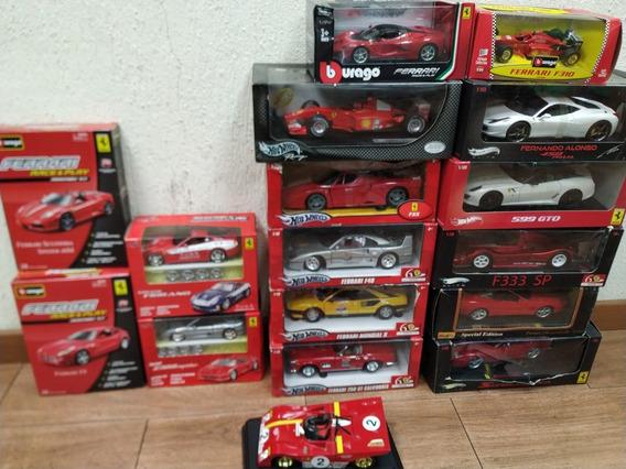 Remate Unica Coleccion De Autos Ferrari A Escala 470ameri